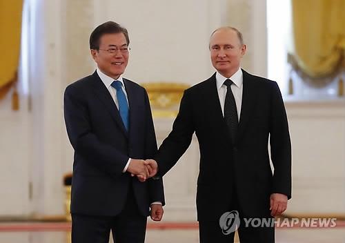 文在寅:韩俄将加强合作共促韩半岛亚欧大陆共同繁荣