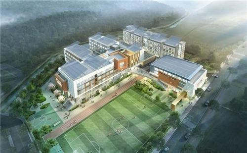 韩首所中国主题教育国际高中动工