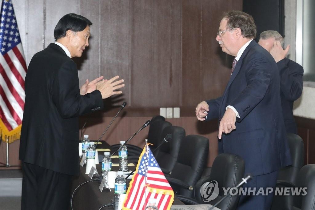 韩美明举行第10次防卫费分担第四轮谈判