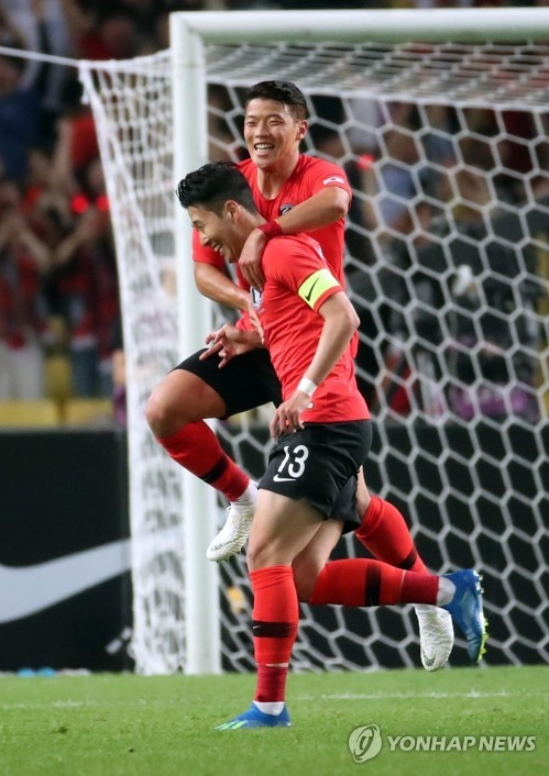 韩国对阵德国争出线希望 锋线组合担子重