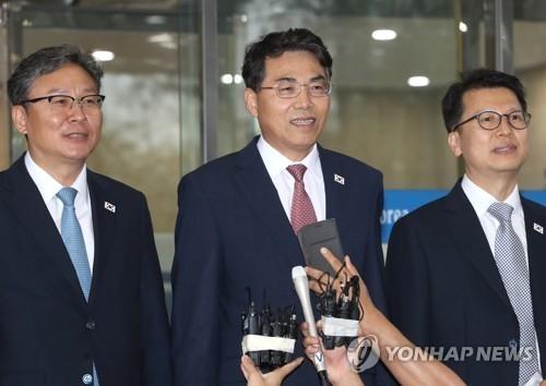 韩朝铁路会谈举行全体会议和代表会议