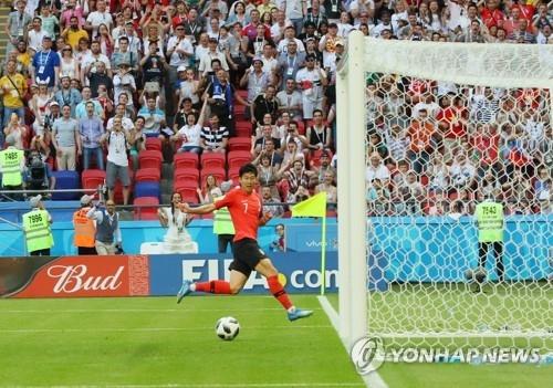 简讯:世界杯小组赛韩国2比0战胜德国