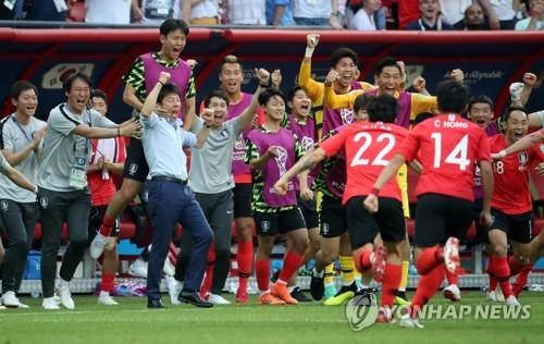 世界杯韩国军团完胜德国制造大逆转