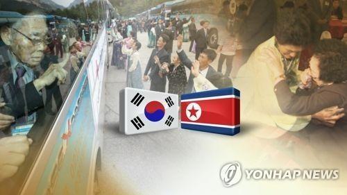 韩考察团检查离散家属团聚活动设施