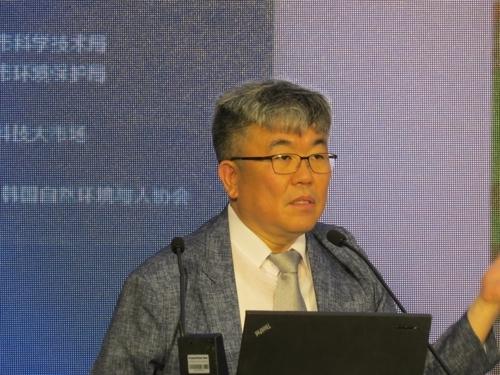 韩企读天测霾技术成果亮相沈阳APEC技展会