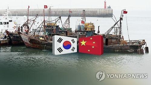 韩中海界谈判本周在庆州举行