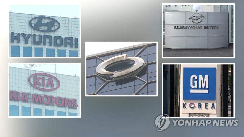 韩国五大整车企业6月销量回升