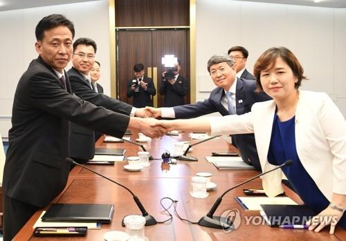 韩朝开会商讨朝鲜森林荒漠化对策