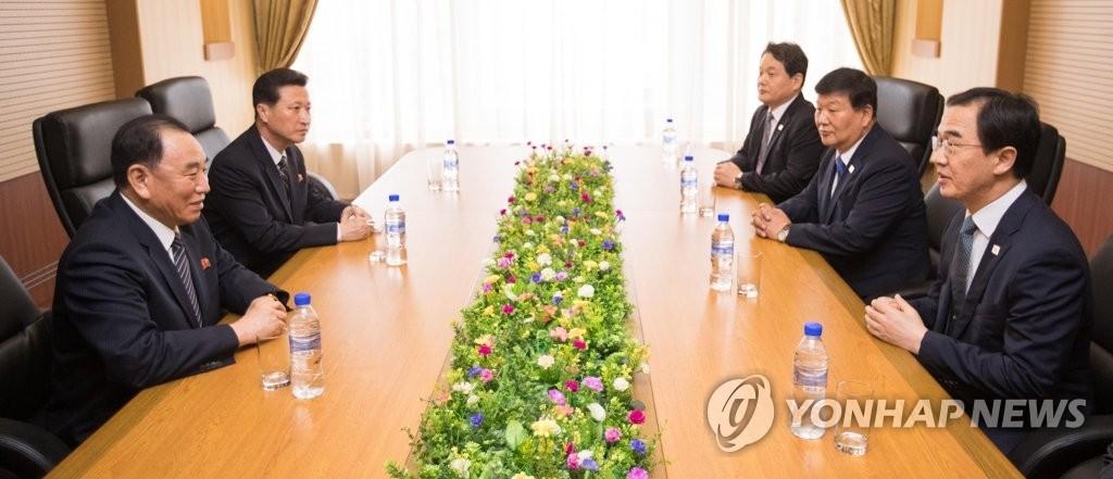 韩朝高官平壤会面 韩对金英哲造访事先全然不知