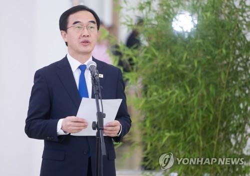 韩统一部长:韩朝若如两队球员携手奋进将共创民族美好未来