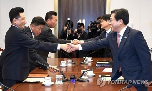 详讯:韩朝深夜在平壤举行体育工作会谈