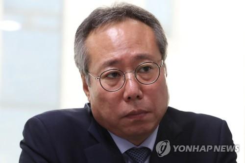 资料图片:电影振兴委委员长吴奭根(韩联社)