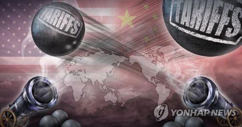 韩政府屏息注视中美贸易战