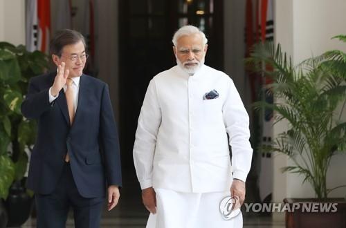 韩印峰会夯实特殊战略伙伴关系
