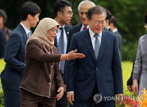 文在寅:朝鲜批美不跟进或是谈判策略