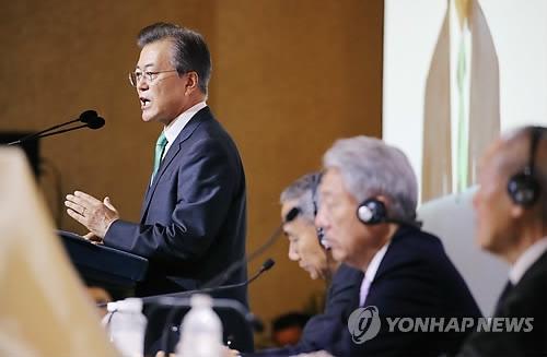文在寅:韩朝将在无核化后共建经济共同体