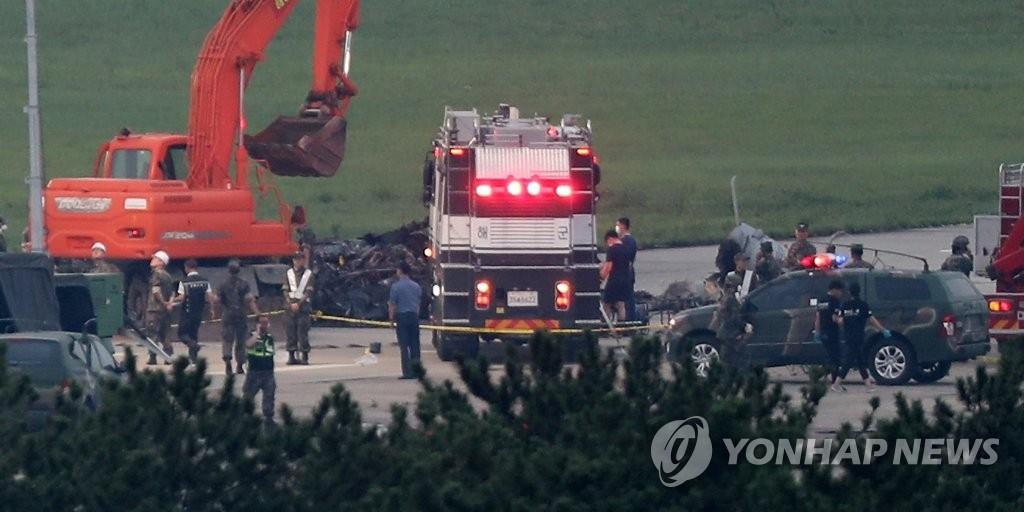 韩军登陆直升机试飞坠毁致5死1伤