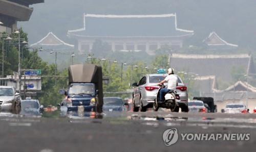 三伏天来袭 韩国各地持续高温