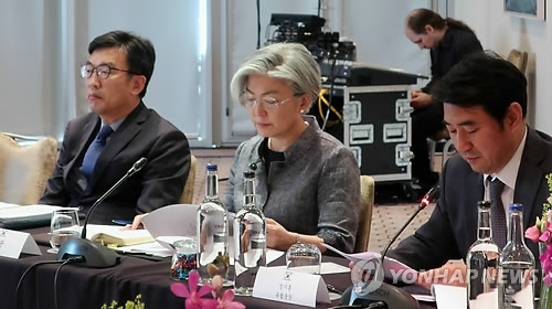 韩外长主持驻欧大使领事会议