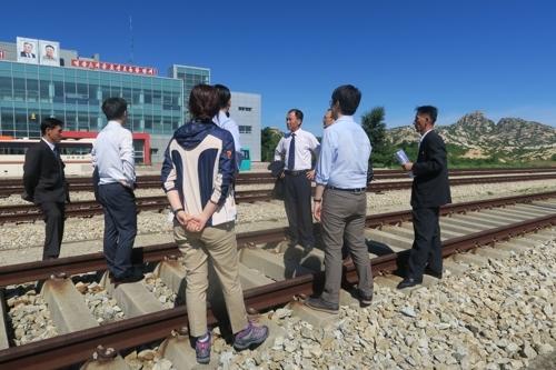 韩朝考察结果:东海岸跨境铁路对接段状态良好