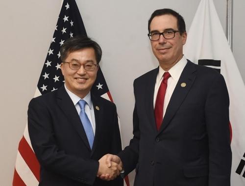 韩财长呼吁美方豁免对韩产汽车加征关税