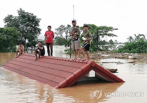 文在寅指示向老挝大坝坍塌事故现场派救援队