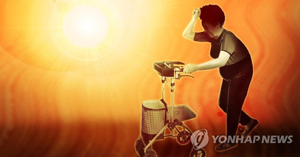 统计:韩今夏罕见高温已致14人死亡