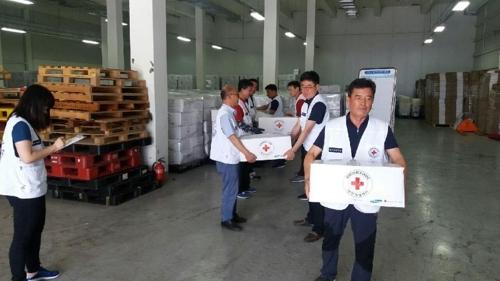 大韩红十字会将向老挝溃坝灾区捐款68万元