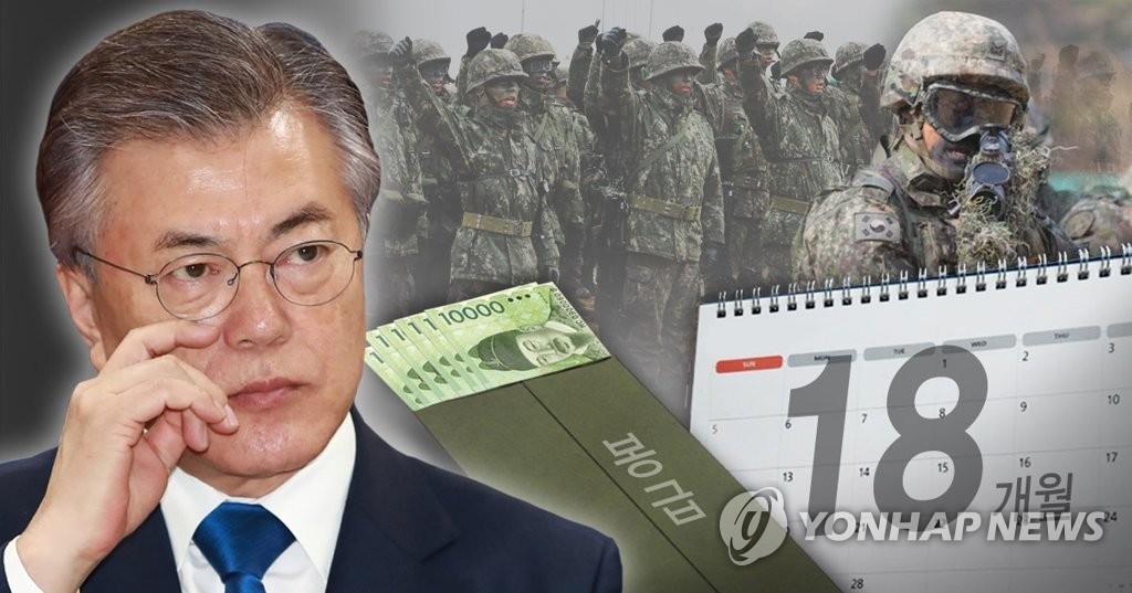 韩军发布改革案:裁减官兵缩短兵役期