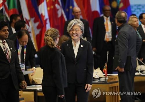韩外长下周出席东盟地区论坛系列会议