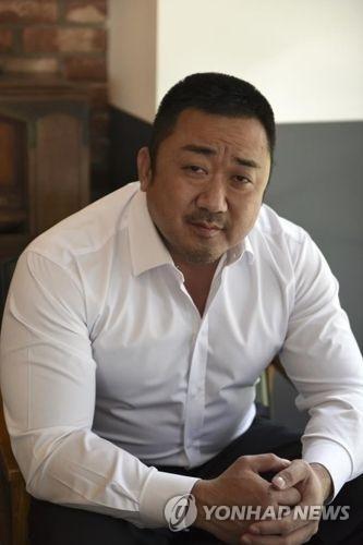 演员马东锡(发行商MEGABOX PLUSM提供)