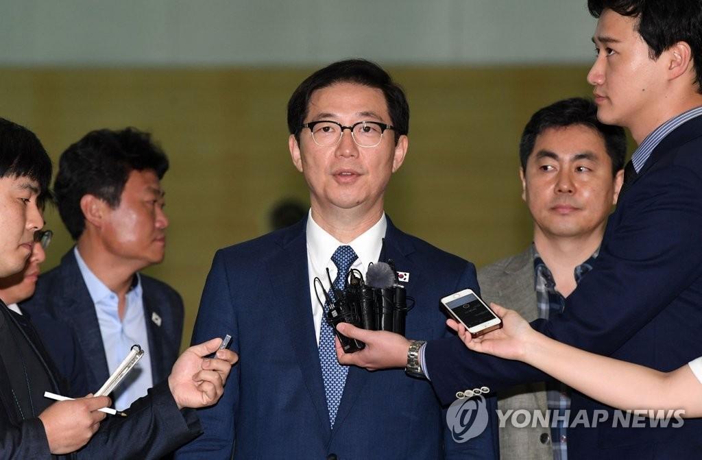 韩统一副部长明访朝查看离散家属会面场所