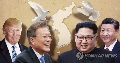 韩青瓦台:不排除中国参与终战宣言的可能