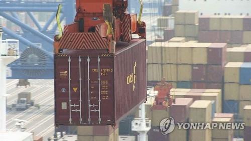 韩7月出口同比增6.2% 连续5个月破500亿美元