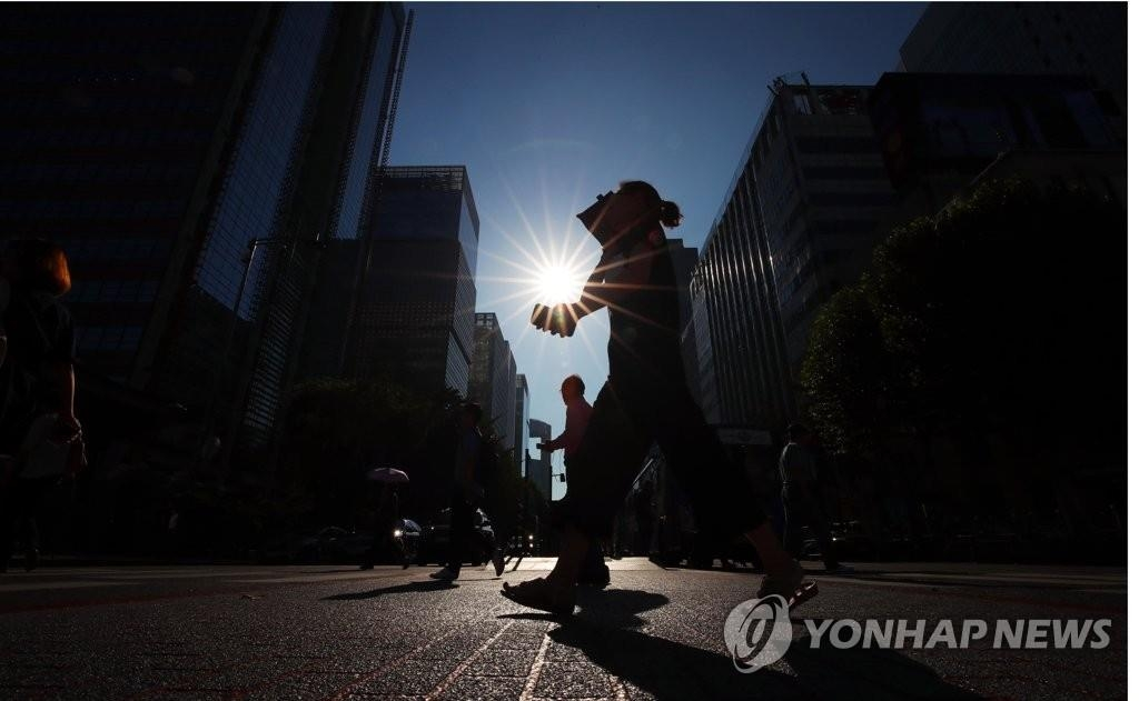 详讯:首尔最高气温38.8度创111年来最高值