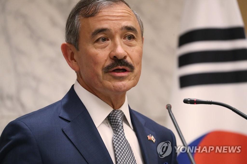 美国驻韩大使:朝鲜需为发表终战宣言采取积极行动