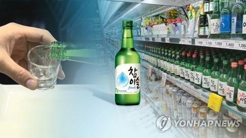 韩国烧酒走红东南亚 今年出口望破千万美元