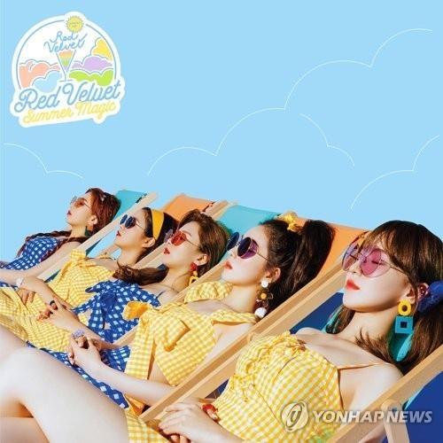 Red Velvet新歌《Power up》登顶四大音源榜