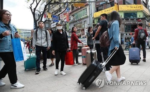 调查:外国人来首尔平均停留5.6天 最爱逛明洞
