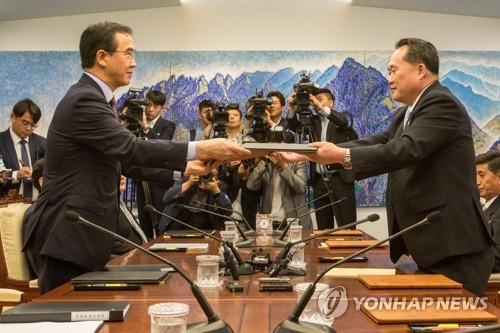 简讯:韩朝13日开会筹备文金会