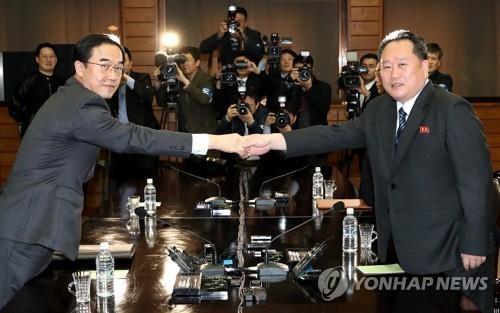 韩朝高级别会谈代表团名单出炉