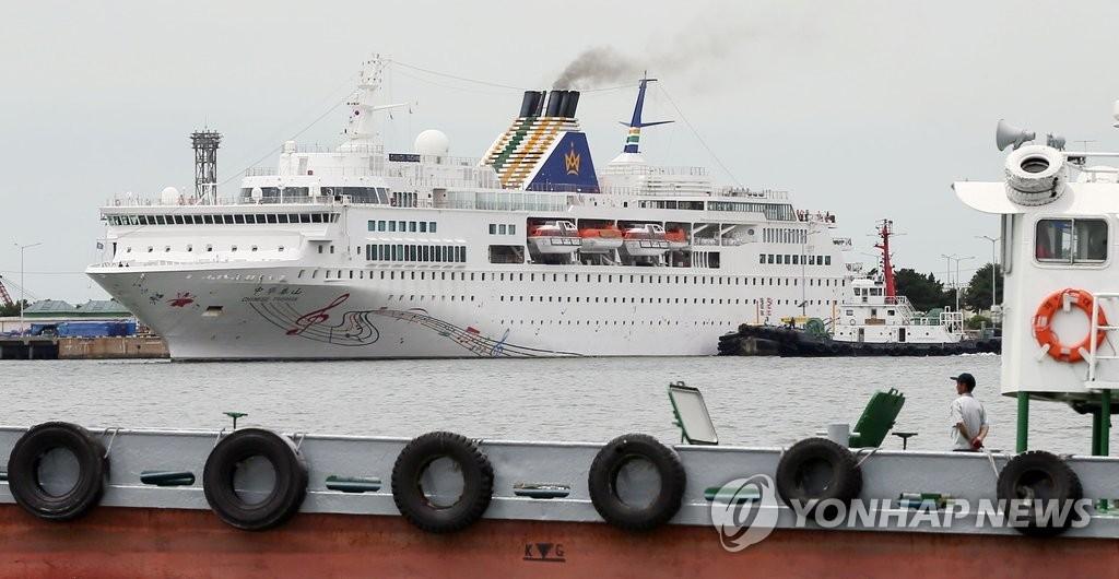 韩仁川港湾公社拟推韩朝同游邮轮项目