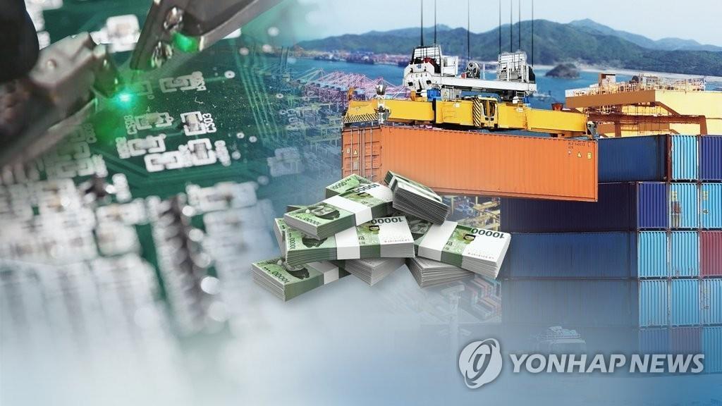 韩8月前十天出口额同比增18.9%