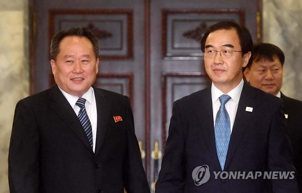 朝高官称韩朝正讨论首脑会谈事宜