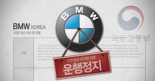 韩将向2万宝马车主下停驶令