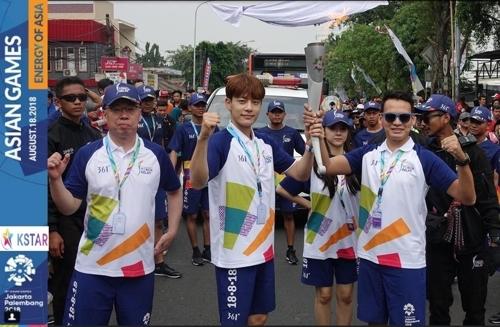 韩歌手SEVEN担任亚运火炬手