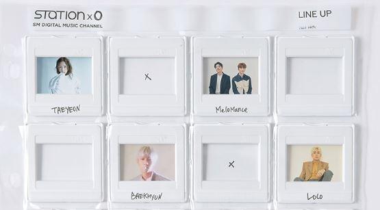 资料图片:STATION X 0歌手名单照片(官网画面截图)