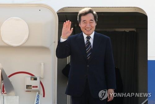 韩国总理赴雅加达出席亚运会开幕式