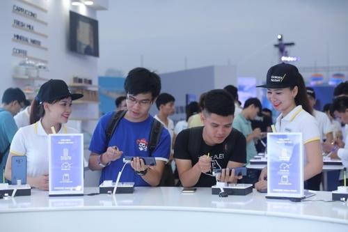三星Galaxy Note9东南亚上市活动反响热烈