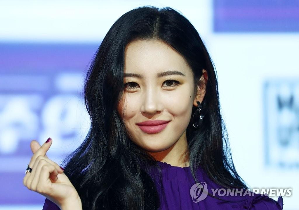 歌手宣美(韩联社)